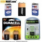 9 Volt Batteries (4 products)