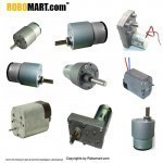 Side Shaft Gear Motors For Arduino (10 products)