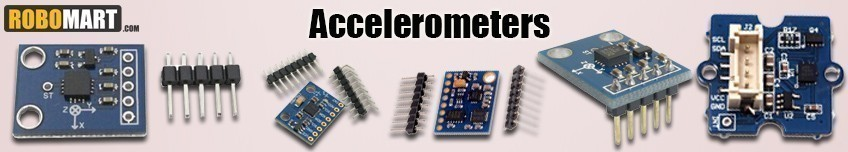 Measure Distance with Accelerometer Sensors Modules