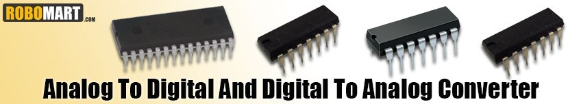 Analog to Digital and Digital to Analog Converter