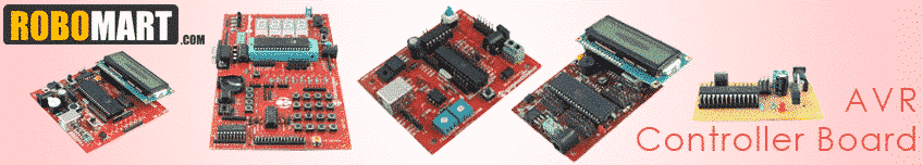 AVR Microcontroller Boards
