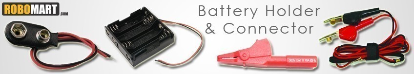 Battery Holders and Connectors