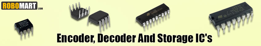 Encoder, Decoder and Storage IC's