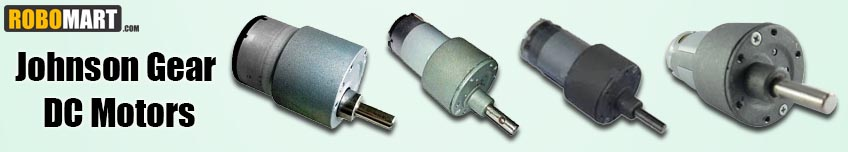 Johnson Gear DC Motors