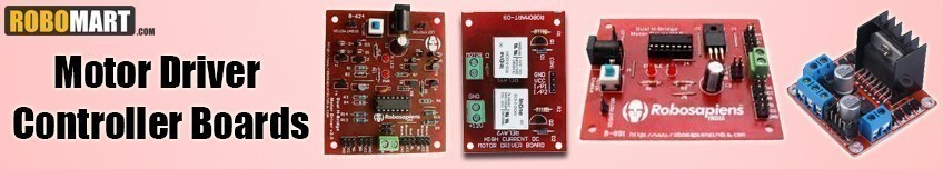 Motor Driver Controller Boards