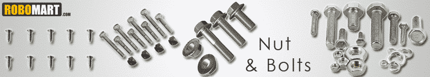 Nut Bolts, Screws and Washers