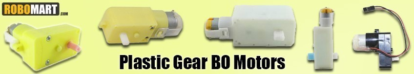 Plastic Gear BO Motors