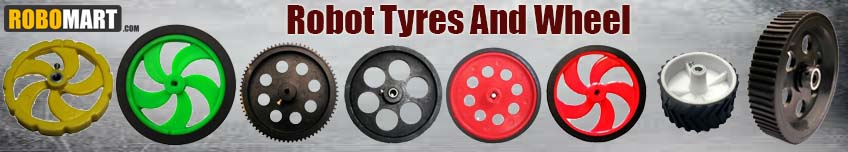 Robot Tyres and Wheel