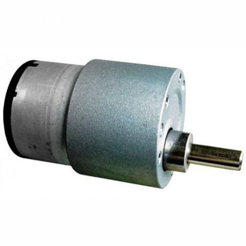 100 rpm side shaft gear dc motor