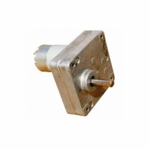 buy online 500 rpm square gear dc motor in india robomart