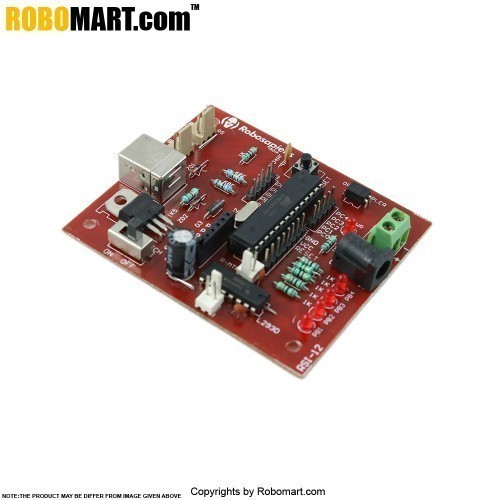 AT Mega-8 Robotics Mini Development Board V 3.0