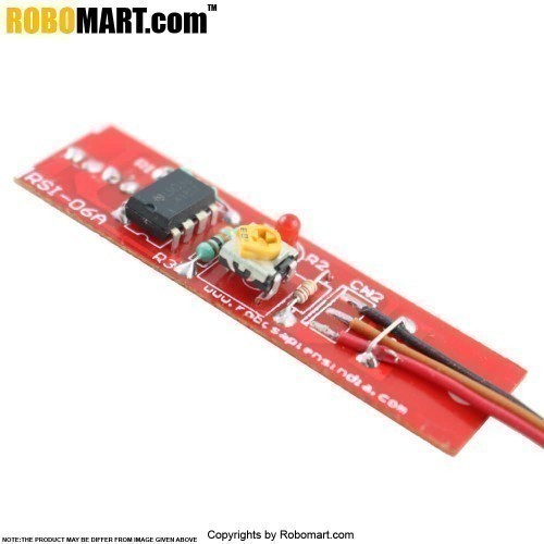 IR Based Digital Color Sensor Black And White for Arduino/Raspberry-Pi/Robotics