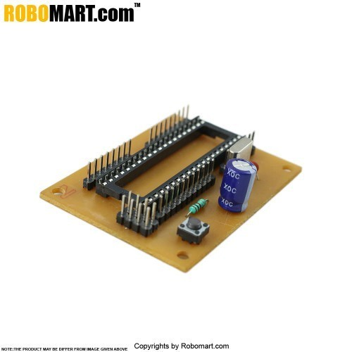 ATMEGA 16 Project Board without Controller V 1.0