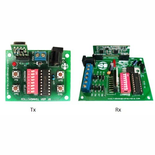 434 mhz rf 4 channel wireless remote control module