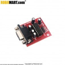 RS232 Signal to TTL Converter Module for Arduino/Raspberry-Pi/Robotics