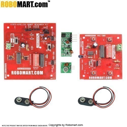 434 MHz 4 channel Wireless RF Control Module Robotic Board V2