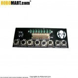 8 Keys Input Keypad for Arduino/Raspberry-Pi/Robotics
