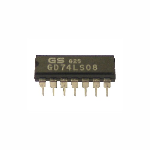 74LS08 quad 2-input and gate