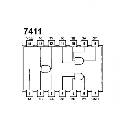 74LS11 Triple 3-Input AND Gate