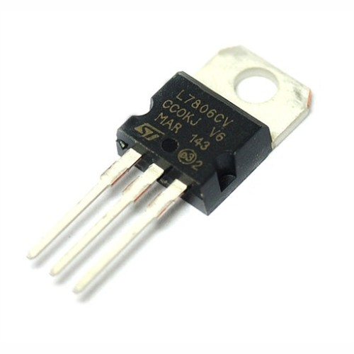 l7806 dc voltage regulator