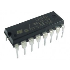 L293D Dual H- Bridge Motor Driver IC