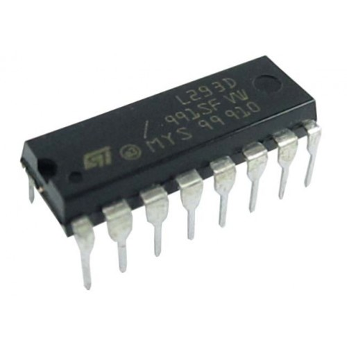l293d dual h-bridge motor driver ic