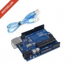 Arduino Uno R3 Board with USB