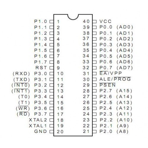 Circuit diagram of 89c51 wiring diagrams.