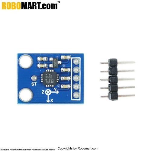 Buy Triple Axis Accelerometer ADXL335 for Arduino/Raspberry