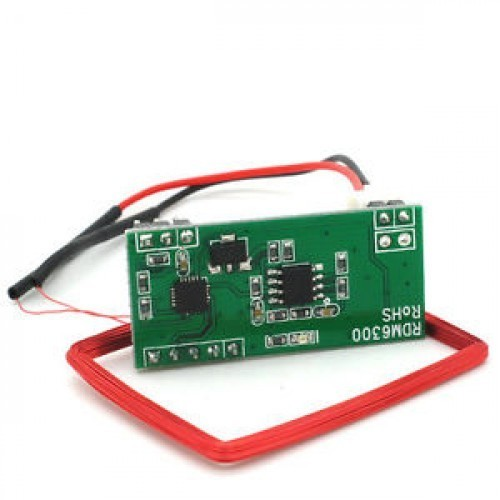 UART 125Khz EM4100 RFID Card Key ID Reader Module RDM6300 for Arduino/Raspberry-Pi/Robotics