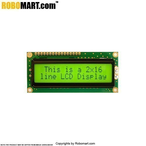 16x2 Character LCD Display for Arduino/Raspberry-Pi/Robotics