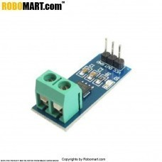 ACS712 20A Hall Current Sensor Module for Arduino/Raspberry-Pi/Robotics