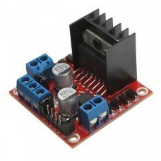 L298 Stepper Motor Driver Board Module For Arduino Smart Car Robot for Arduino/Raspberry-Pi/Robotics