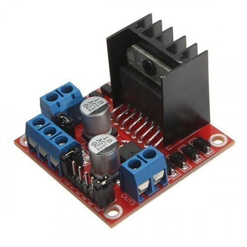 L298 stepper motor driver board module arduino smart car for Raspberry pi stepper motor controller
