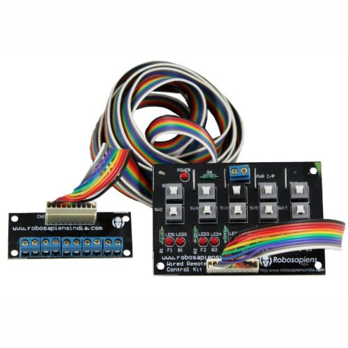 10 Channel Wired Remote Control kit for Arduino/Raspberrypi/Robotics