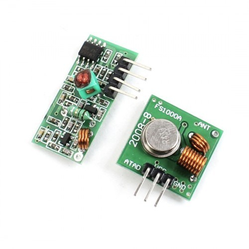 Buy Online 433Mhz RF Transmitter and Receiver India