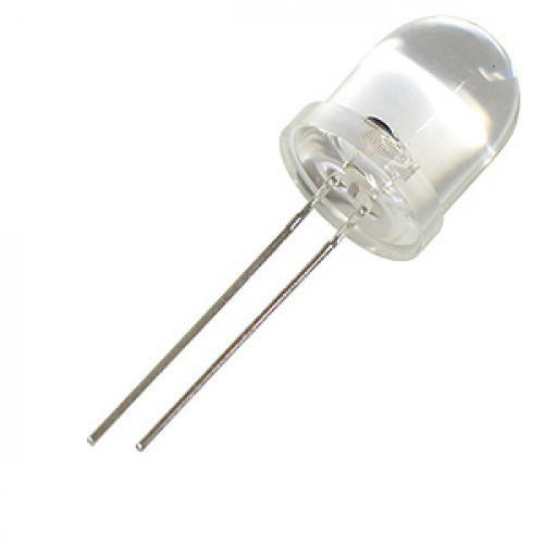 10 mm white big led
