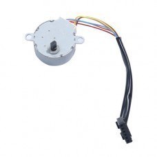Round Shape Unipolar Stepper DC Motor (Low Torque) for Arduino/Raspberry-Pi/Robotics
