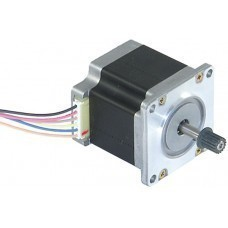 STEPPER MOTOR NEMA23 10KGCM TORQUE WITH PULLEY