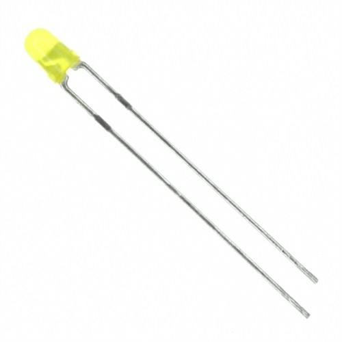 3 mm yellow led light