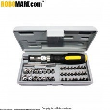 41 pc. Combination Tool Set with Bits and Sockets