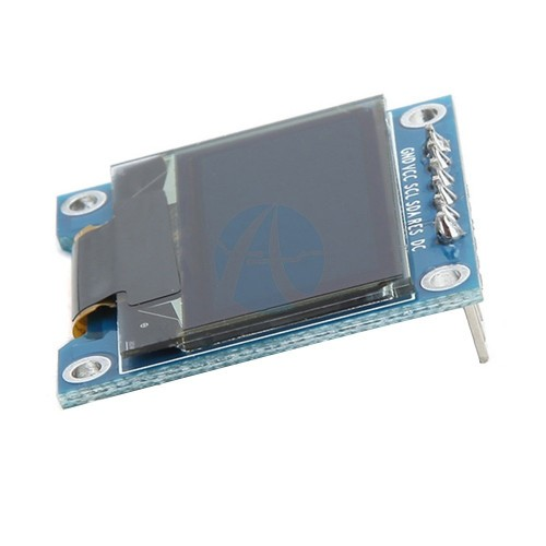 0.96 inch 128x64 6 Pin OLED Display Module Blue