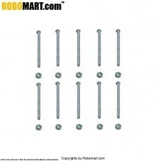 Nut Bolt Pack (Dia 5 mm, Length 23 mm)