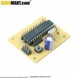 ATMEGA 8 Project Board with Controller V 1.0