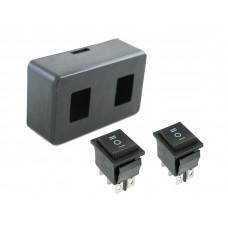 DPDT Switches with Enclosure