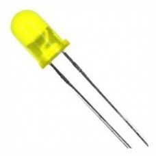 Yellow LED 5 mm (Pack of 5)