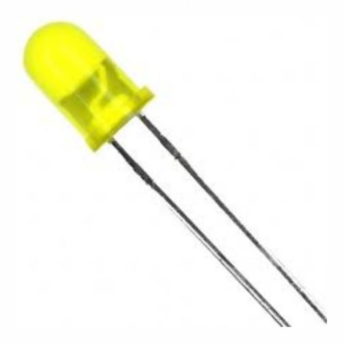 5 mm yellow led