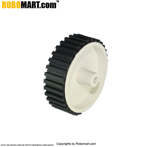 White Small Tyre V 2.0 for Arduino/Raspberry-Pi/Robotics