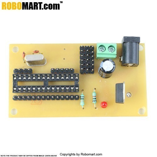 ATMEGA 8 Project Board without Controller V 2.0