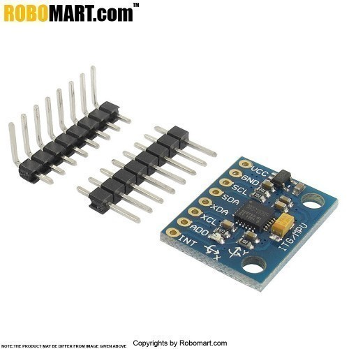 GY 521 MPU 6050 Module 3 Axis Analog Gyro Sensors + 3 Axis Accelerometer Module for Arduino/Raspberry-Pi/Robotics